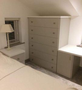Matt Cashmere bespoke drawer unit