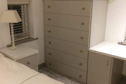 Matt Cashmere bespoke drawer unit