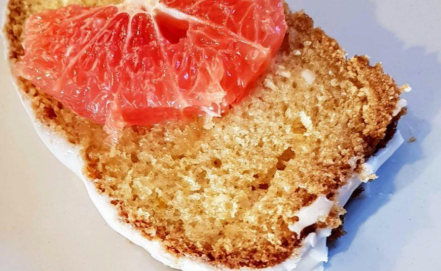 Vegan Grapefruit drizzle cake NEFF